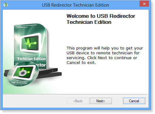 Redirect USB devices over any distance